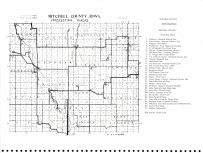 Mitchell County Points of Interest Map, Mitchell County 1977